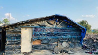 صورة هدم مسجد بمخيم الروهينجا في العاصمة الهندية
