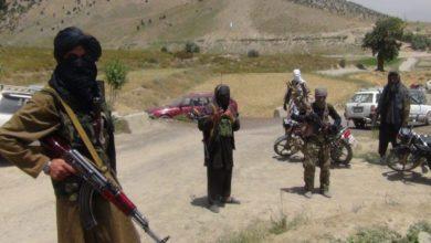 صورة طالبان الإرهـ،ـابية تسيطر على معبر حدودي مع باكستان