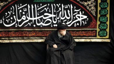 صورة بيت المرجع الشيرازي في قم المقدسة يقيم مجالس العزاء إحياءً لذكرى استشهاد الإمام الباقر عليه السلام