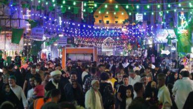 صورة أكبر كرنفال للفرح تشهده النجف الأشرف بذكرى عيد الغدير الأغر
