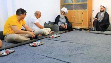 صورة المرجع النجفي: ضرورة تلاحم علاقات الشعوب المسلمة فيما بينها