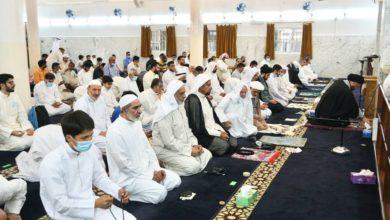 صورة الكويت: إقامة صلاة عيد الأضحى المبارك بإمامة نجل المرجع الشيرازي