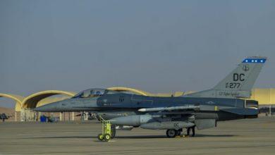 صورة الجيش الأمريكي يعلن وصول مقاتلات F-16 إلى السعودية (صور)