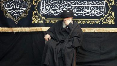 صورة بيت المرجع الشيرازي في قم المقدّسة يختتم مجالسه العزائية بذكرى عاشوراء الإمام الحسين عليه السلام