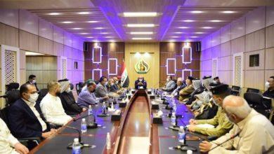 صورة الحكومة المحلية في كربلاء تعقد اجتماعاً مع ممثلي العتبات المقدسة وكفلاء المواكب الحسينية والأطراف استعداداً لشهر محرم الحرام