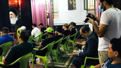 صورة لبحث الاستعدادات لشهر محرّم الحرام .. مركز أهل البيت يعقد اجتماعاً مع أصحاب المواكب والهيئات الحسينيّة في بغداد