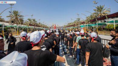 صورة تقرير مصور.. أيتام يقصدون مرقد الإمام الحسين عليه السلام بموكب عزاء
