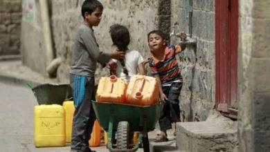 صورة الأمم المتحدة: نصف الشعب اليمني يفتقر إلى مياه الشرب النقيّة