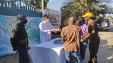 صورة تبيان أهمية مبدأ الإمامة والولاية عند الشيعة من بين فعاليات الاحتفال بعيد الغدير في زامبيا (صور)