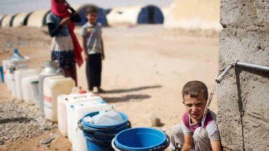 صورة منظمات إغاثية تحذر : الملايين في العراق وسوريا مهددون بأزمة عطش وجوع