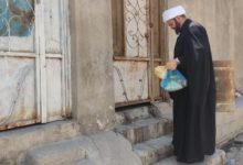 صورة مؤسسة أهل البيت عليهم السلام تطلق برنامجها الشهري لتوزيع السلة الغذائية في محافظة البصرة