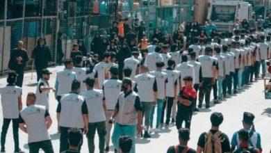 صورة استعدادات زيارة الأربعين.. متطوعون من شمال العراق إلى جنوبه يعلنون استعدادهم لاستقبال الزيارة المليونية