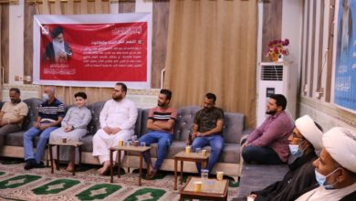 صورة الهيئة الصادقية في البصرة تحتفل بمناسبة عيد الغدير الأغر ويوم المباهلة