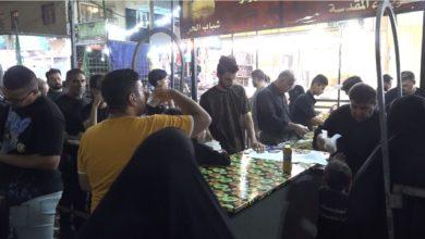 صورة المواكب الحسينية تستنفر لتقديم الخدمات لزائري العاشر من المحرم في كربلاء المقدسة