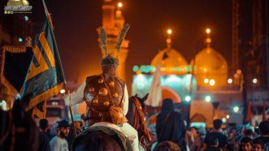 صورة تقرير مصور.. الأجواء العاشورائية وحركة المواكب عند مرقد الإمامين الكاظمين عليهما السلام