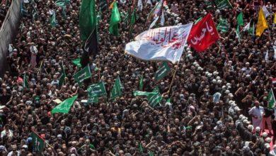 صورة بالصور.. سيول بشرية تتدفق بانتظام صوب مرقد الإمام الحسين عليه السلام لإحياء عزاء ركضة طويريج
