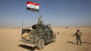 صورة استشهاد وإصابة عدد من رجال الأمن في هجوم لد1عش الإرهـ،ـابي في الموصل