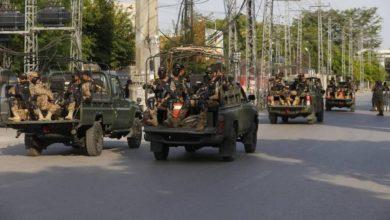 صورة مقتل سبعة جنود وخمسة إرهـ،ـابيين إثر اشتباك مسلح في باكستان