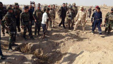 صورة مؤسسة الشهداء تعلن العثور على عشرات المقابر الجماعية لضحايا د1عش الإرهـ،ـابي في عدة مناطق