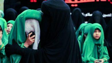 صورة كربلاء المقدسة: مسيرة عزائيّة نسويّة لإحياء ذكرى استشهاد يتيمة الإمام الحسين عليه السلام