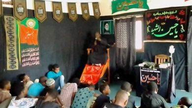 صورة بمشاركة واسعة لشيعة أهل البيت عليهم السلام.. تواصل إقامة المجالس العزائية في مدغشقر