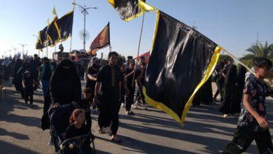 صورة زائرو الأربعين يعبرون محافظة المثنّى.. والديوانيّة تستنفر لاستقبالهم