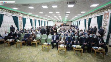 صورة بحضور باحثين عرب وأجانب… انطلاق فعاليات المؤتمر العلمي الخامس الخاص بزيارة الأربعين في الصحن الحسيني الشريف