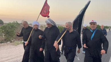 صورة زائرون كويتيون يصلون البصرة جوّاً لمشاركة مواكب المشاية صوب كربلاء المقدسة لإحياء الأربعينية