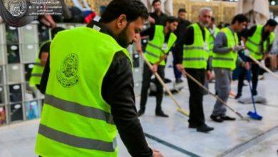 صورة إشراك 3 آلاف متطوع لخدمة زائري الأربعين الوافدين لتقديم العزاء لأمير المؤمنين عليه السلام