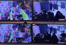 صورة مجموعة الإمام الحسين (عليه السلام) الإعلامية تواكب مسيرة العشق الحسيني صوب كربلاء المقدسة