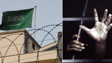 صورة منظمة حقوقية تتهم المجتمع الدولي بالتواطؤ مع النظام السعودي في قمع الحريات وإسكات الأصوات المطالبة بالإصلاحات