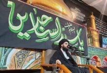 """صورة """"10 ليالٍ"""" من الحزن في مسجد وحسينية آل ياسين (عليهم السلام) بذكرى الفاجعة السجادية"""