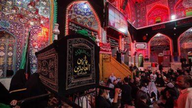 صورة شيعة أهل البيت عليهم السلام يستعدون لإحياء ذكرى شهادة الإمام السجاد عليه السلام