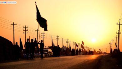 صورة تقرير مصور.. قلوب قبل الأجساد تتسابق صوب مرقد الإمام الحسين عليه السلام بذكرى أربعينه الخالد