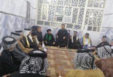 صورة مؤسسة العلوية شريفة عليها السلام في بغداد تقيم مجلس عزاء بذكرى استشهاد الإمام الحسن المجتبى عليه السلام (صور)