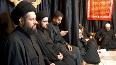 صورة بيت نجل المرجع الشيرازي في الكويت يشهد إقامة المجالس العزائية لشهر صفر الأحزان