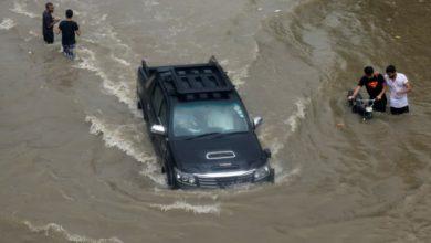 صورة مصرع 17 شخصاً جراء الأمطار الغزيرة في باكستان