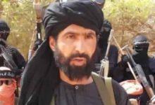 صورة الإعلان عن مقتل زعيم د1عش الإرهـ،ـابي الصحراوي