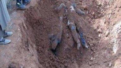 صورة العراق: العثور على مقبرة جماعية في الأنبار (صور)