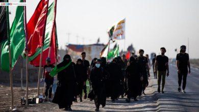 صورة مشاهد تسرُّ القلوب لمسير المعزين صوب كربلاء المقدسة بذكرى الأربعين الحسيني الخالد