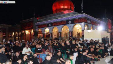 صورة مرقد السيدة زينب عليها السلام في سوريا يقيم العزاء بذكرى أربعينية الإمام الحسين عليه السلام (صور)