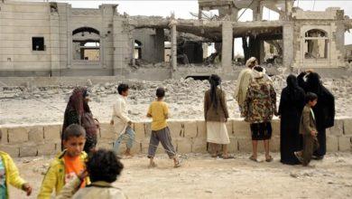 صورة تقرير: 3 آلاف أسرة يمنية نزحت من محافظة مأرب منذ سبتمبر