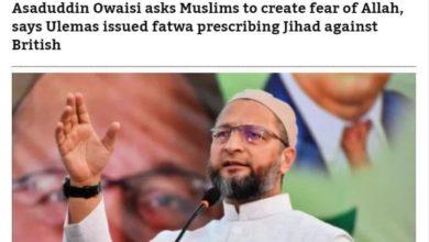 صورة مسؤول هندي بارز يستشهد بموقعة كربلاء المقدسة كمثال على رفض الخوف والسعي للحرية