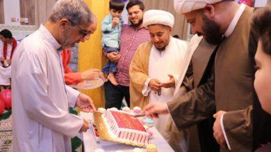 """صورة الهيئة الصادقية تنثرُ """"ورود الفرحِ"""" على قلوب البصريين بذكرى عيد الغدير الثاني"""