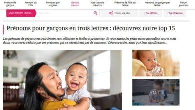 صورة موقع إلكتروني فرنسي: اسم (علي) من الأسماء الشائعة والمحببة في فرنسا والعالم الغربي