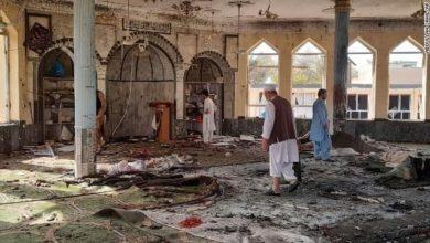 صورة مكتب المرجع الشيرازي في كابل يصدر بياناً بشأن جريمة مسجد سيّد آباد في أفغانستان