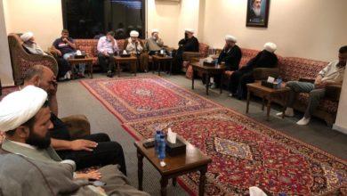 صورة مكتب المرجع الشيرازي في لبنان يحيي فاجعة استشهاد الإمام العسكري (عليه السلام)