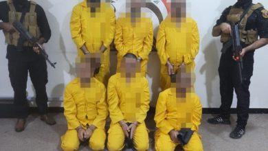 صورة العراق: الإطاحة بأخطر خلية إرهـ،ـابية في الموصل (صورة)