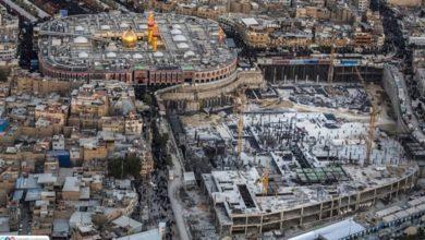 صورة كربلاء المقدسة: توسعة جديدة لمرقد الامام الحسين عليه السلام بمساحة 100,000م2