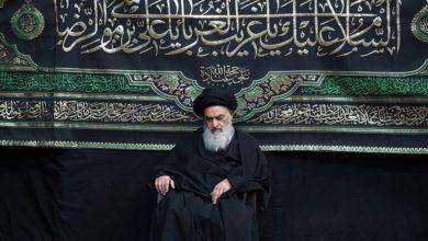 صورة إحياء ذكرى استشهاد الإمام الرضا صلوات الله عليه ببيت سماحة المرجع الشيرازي دام ظله